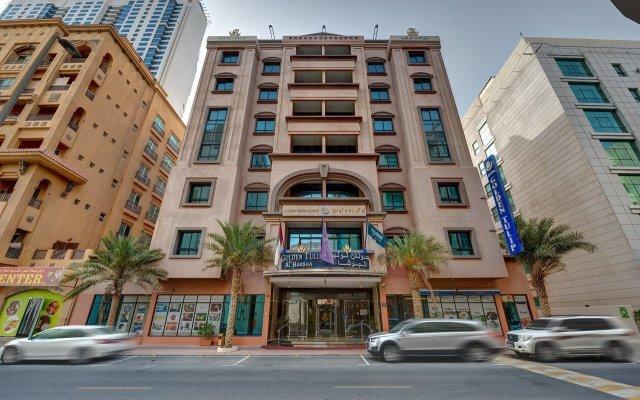 Отель Golden Tulip Al Barsha вид на фасад