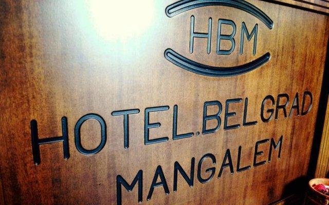 Отель Belgrad Mangalem Берат вид на фасад