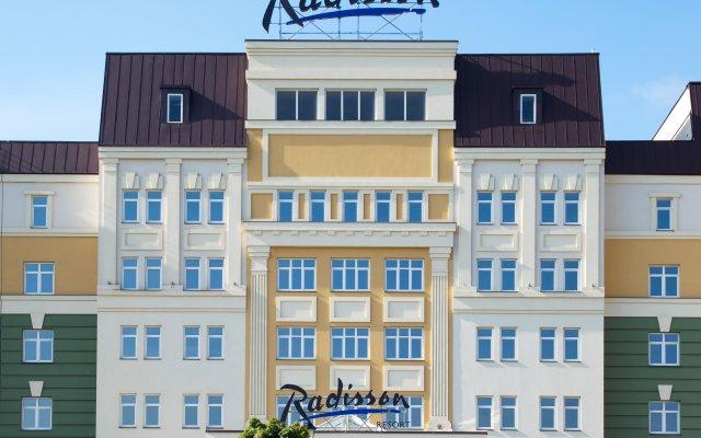 Отель Radisson Resort & Residences Zavidovo Вараксино вид на фасад