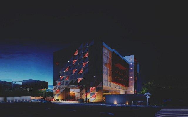 Отель Aauris вид на фасад