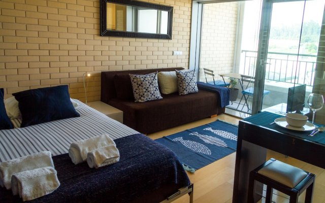 Апартаменты Liiiving In Porto - Antas Corporate Studio комната для гостей