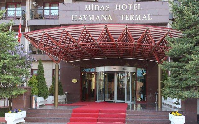 Midas Haymana Termal Hotel Анкара вид на фасад