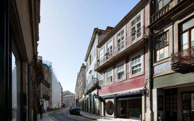 Отель Aparthotel Oporto Entreparedes Португалия, Порту - отзывы, цены и фото номеров - забронировать отель Aparthotel Oporto Entreparedes онлайн вид на фасад