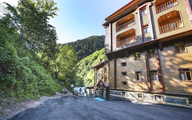 Ayder Hasimoglu Hotel Турция, Чамлыхемшин - отзывы, цены и фото номеров - забронировать отель Ayder Hasimoglu Hotel онлайн вид на фасад