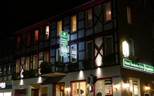 Hotel Deutsche Eiche Нортейм вид на фасад
