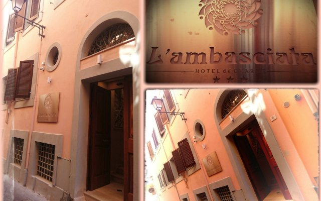 L'Ambasciata Hotel de Charme вид на фасад