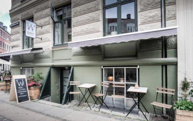 Woodah Hostel Копенгаген вид на фасад