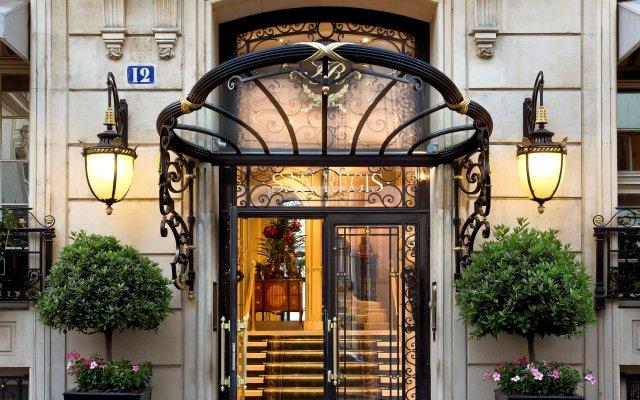 Отель Hôtel San Régis Франция, Париж - 2 отзыва об отеле, цены и фото номеров - забронировать отель Hôtel San Régis онлайн вид на фасад