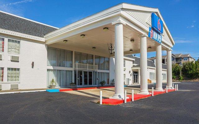 Отель Motel 6 Vicksburg, MS вид на фасад