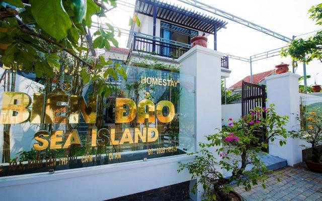 Отель Bien Dao Homestay Hoi An вид на фасад
