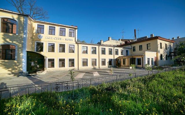 Мини-отель Jazzclub вид на фасад