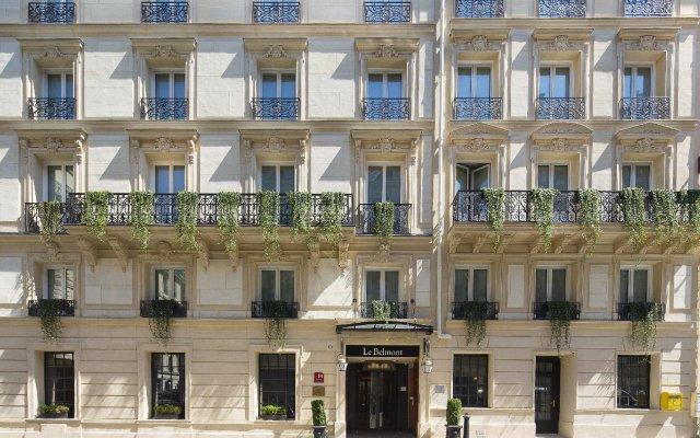 Отель Belmont Paris Франция, Париж - 9 отзывов об отеле, цены и фото номеров - забронировать отель Belmont Paris онлайн вид на фасад