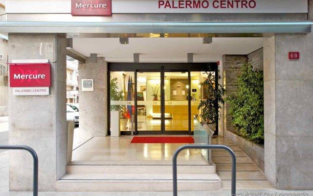 Отель Mercure Palermo Centro Палермо вид на фасад