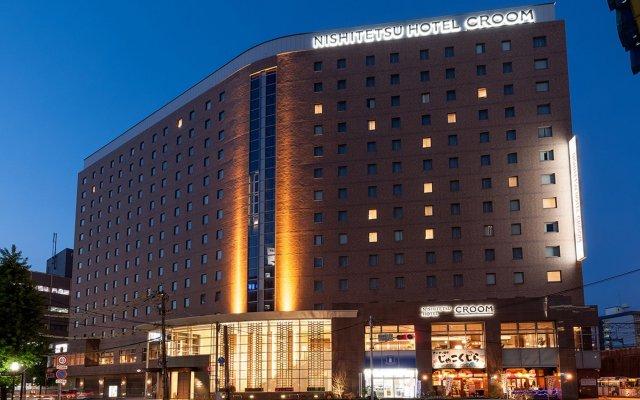 Отель Nishitetsu Croom Hakata Хаката вид на фасад