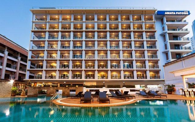 Отель Amata Resort Пхукет вид на фасад
