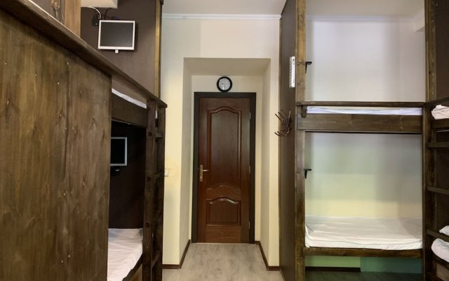 Hostel Brusnika Москва комната для гостей