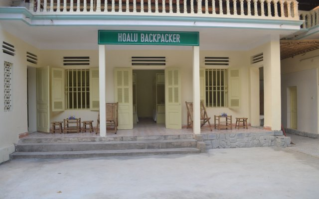 Отель Hoalu Backpacker Homestay Ninh Binh вид на фасад