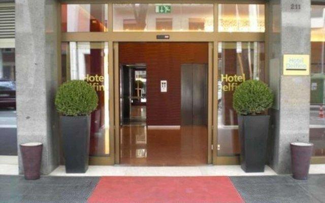Quality Hotel Delfino Venezia Mestre вид на фасад