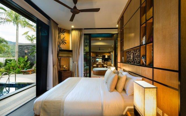 Отель Villa Nadya 3 bedroom pool villa Phuket комната для гостей