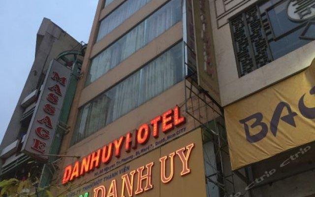 Danh Uy Hotel вид на фасад