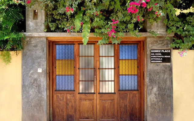 Отель Gomez Place Шри-Ланка, Негомбо - отзывы, цены и фото номеров - забронировать отель Gomez Place онлайн вид на фасад