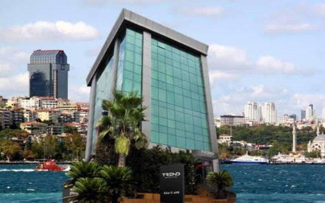 Trend Istanbul Bosphorus Турция, Стамбул - отзывы, цены и фото номеров - забронировать отель Trend Istanbul Bosphorus онлайн вид на фасад