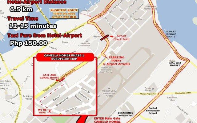Отель Cebu Residencia Lourdes Филиппины, Лапу-Лапу - отзывы, цены и фото номеров - забронировать отель Cebu Residencia Lourdes онлайн вид на фасад