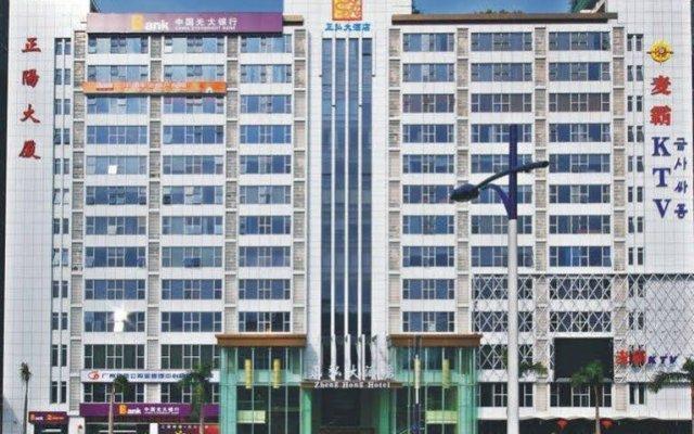 Zhengzhou Junting Hotel вид на фасад