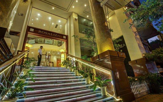 Rosaliza Hotel Hanoi вид на фасад