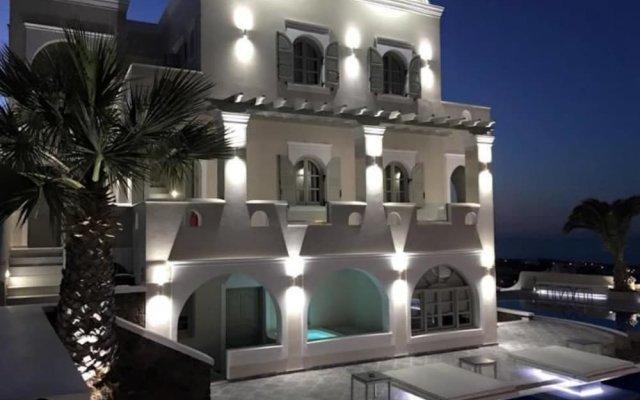 Blue Suites Hotel вид на фасад