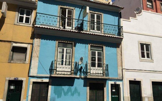 Отель Residencia Oliveira Португалия, Лиссабон - отзывы, цены и фото номеров - забронировать отель Residencia Oliveira онлайн вид на фасад