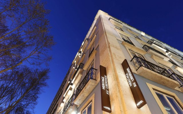 Отель Heritage Avenida Liberdade, a Lisbon Heritage Collection вид на фасад