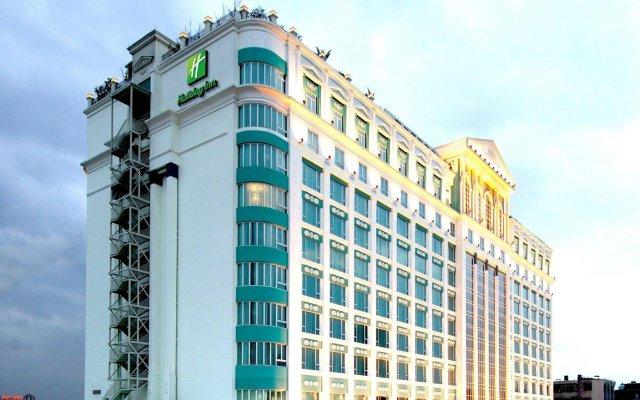 Отель Holiday Inn Shifu Гуанчжоу вид на фасад