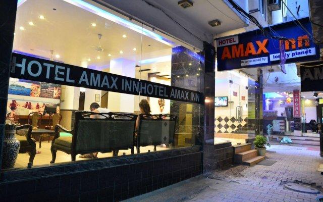 Отель Amax Inn Индия, Нью-Дели - отзывы, цены и фото номеров - забронировать отель Amax Inn онлайн вид на фасад