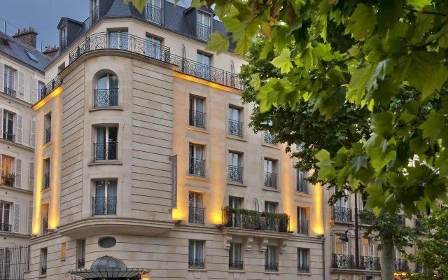 Отель Le Derby Alma вид на фасад
