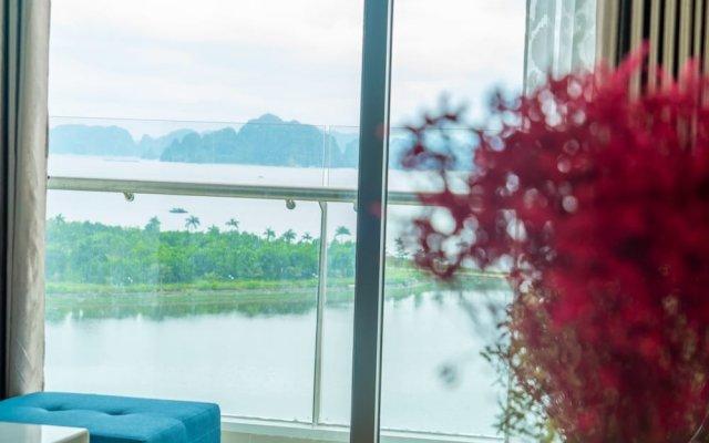 Отель Allas Homestay Ha Long комната для гостей