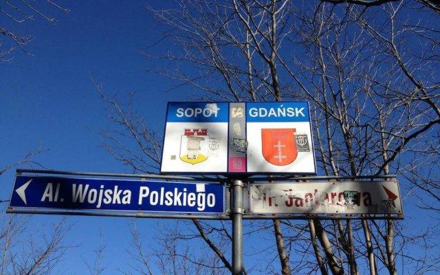 Hostel Gdansk Sun and Sea вид на фасад