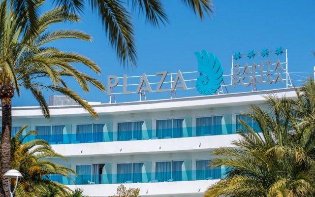Отель Plaza Santa Ponsa вид на фасад