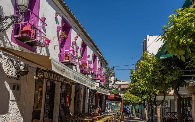 Отель Málaga Inn вид на фасад