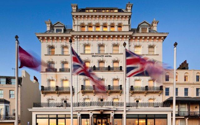 Отель Mercure Brighton Seafront Hotel Великобритания, Брайтон - отзывы, цены и фото номеров - забронировать отель Mercure Brighton Seafront Hotel онлайн вид на фасад
