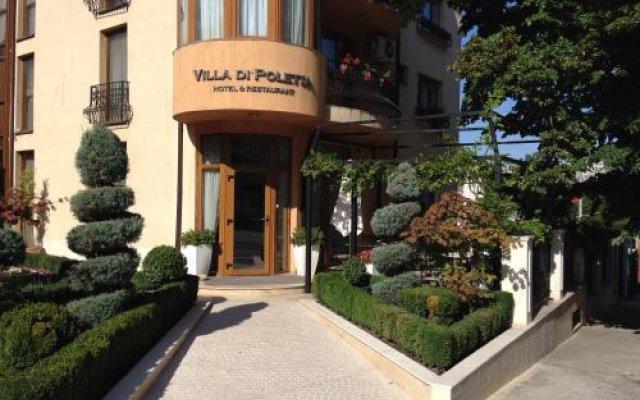 Отель Villa Di Poletta вид на фасад