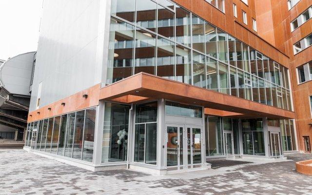 Отель Forenom ApartHotel Vantaa Tikkurila Финляндия, Вантаа - отзывы, цены и фото номеров - забронировать отель Forenom ApartHotel Vantaa Tikkurila онлайн вид на фасад