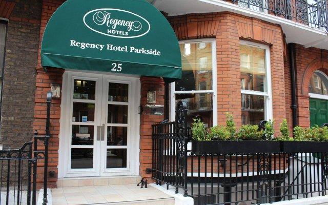 Отель Regency Hotel Parkside Великобритания, Лондон - отзывы, цены и фото номеров - забронировать отель Regency Hotel Parkside онлайн вид на фасад