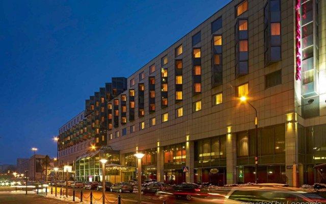Отель Mercure Warszawa Centrum Варшава вид на фасад