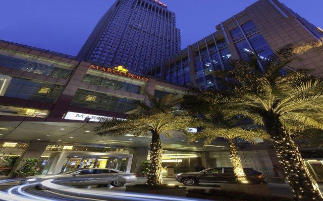 Отель Marco Polo Shenzhen Китай, Шэньчжэнь - отзывы, цены и фото номеров - забронировать отель Marco Polo Shenzhen онлайн вид на фасад