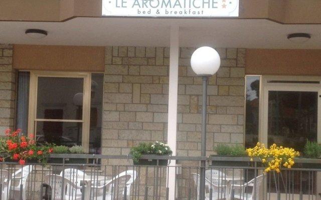 Отель Le Aromatiche B&B вид на фасад