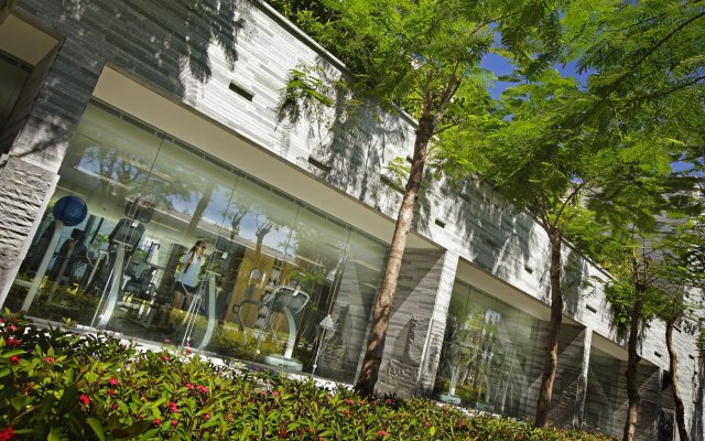 Отель InterContinental Sanya Resort вид на фасад
