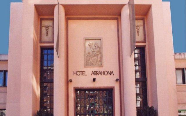 Hotel Arrahona вид на фасад