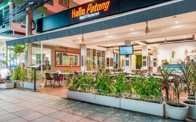Отель Hallo Patong Dormtel And Restaurant Патонг вид на фасад