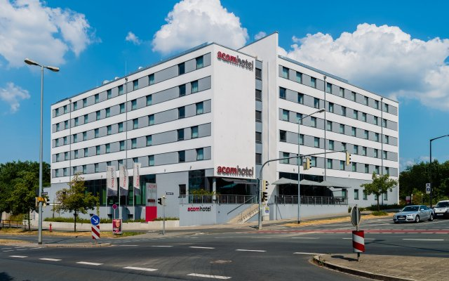 Отель acomhotel nürnberg вид на фасад